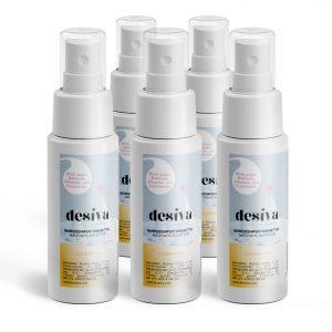 Vorteilspaket 5x Desiva <br/> mit Clementinen-Duft