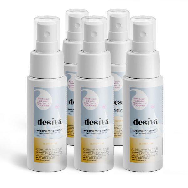 Vorratspaket Desiva mit Clementinenduft