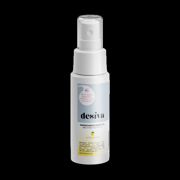 Desiva Desinfektion 50 mL Zitrusduft